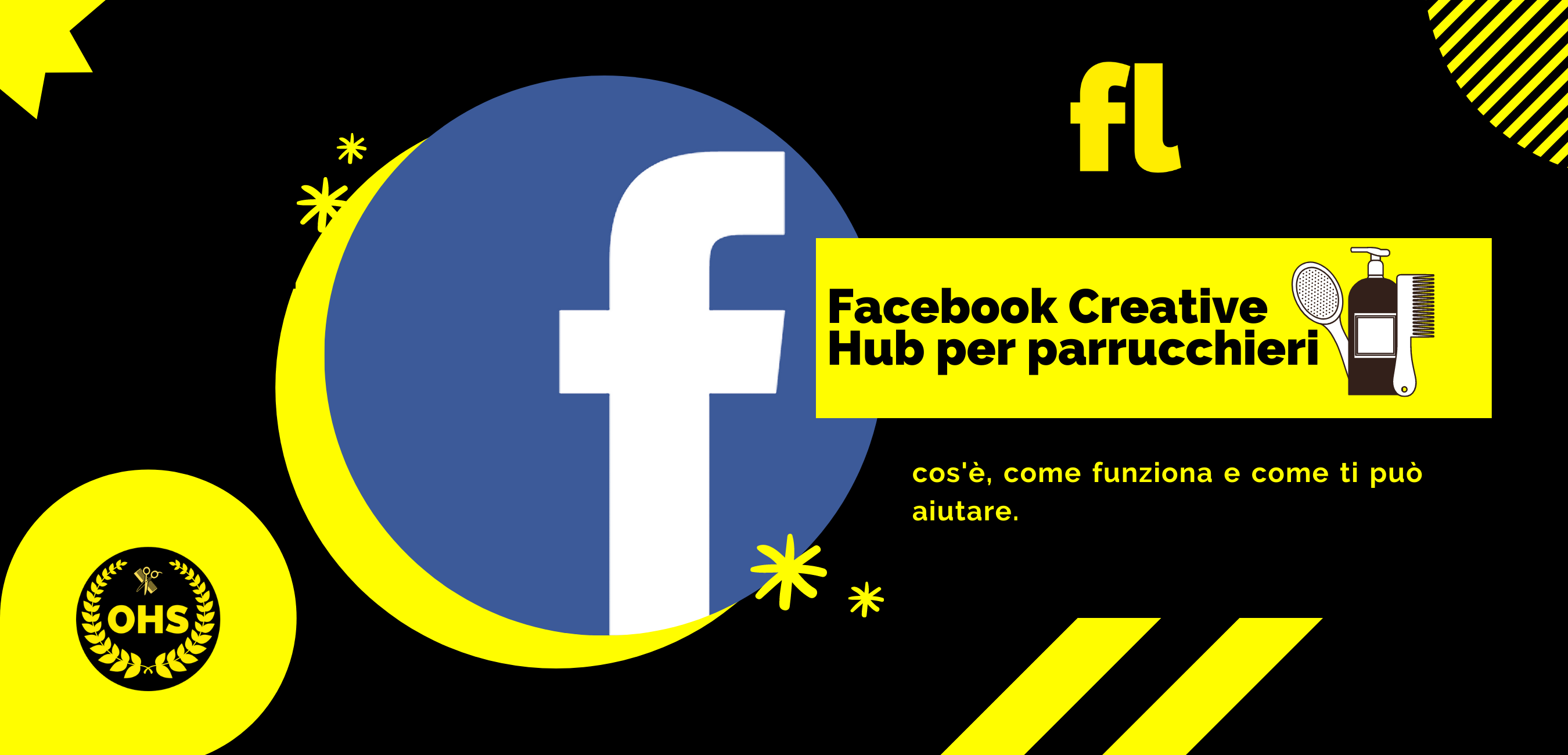 Facebook Creative Hub per parrucchieri